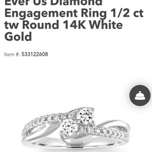 Ever us engagement/anniversary ring from Kay
